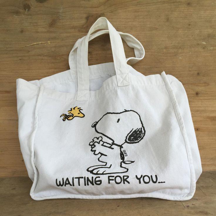 Vintage Snoopy bag