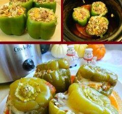Crock Pot Recipes Stuffed Green Peppers