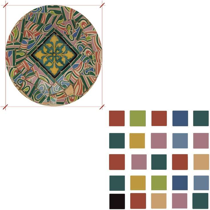 Inspiracje kolorystyczne- katalońska ceramika Inspiration by the colour- Catalan ceramics www.enplan.pl