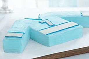 Hockey Jersey Cake recipe