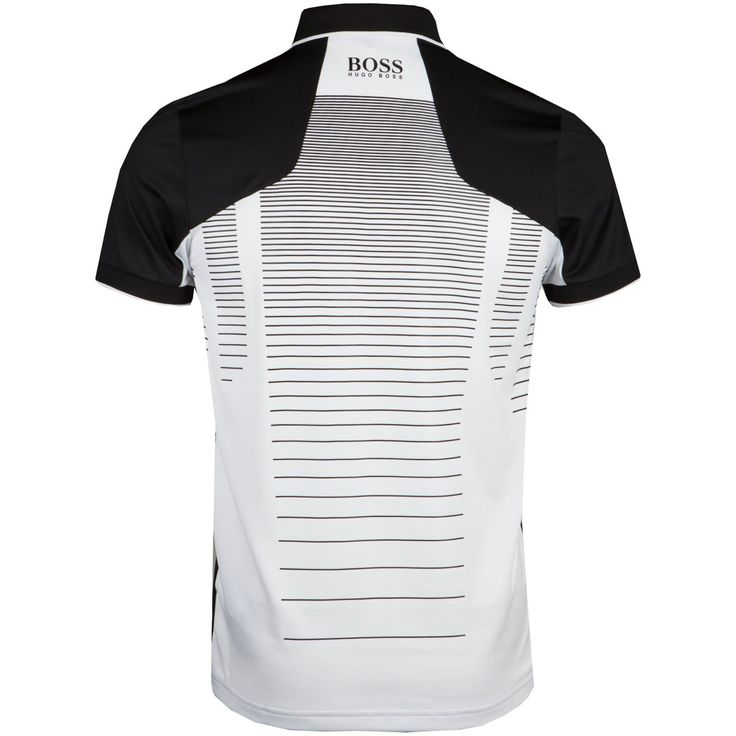 Hugo Boss Paddy MK Black | Polo Shirt | TRENDYGOLFUSA.COM