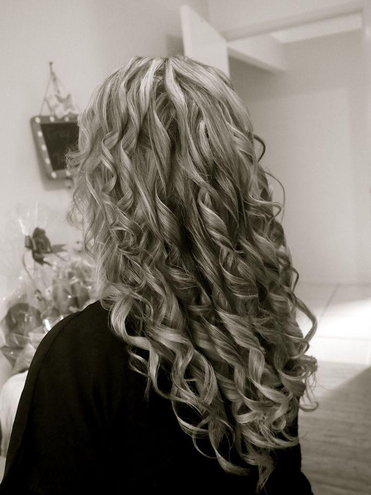 Hair styling by - Renae Tupper @ Hair By Renae Long/curls/down
