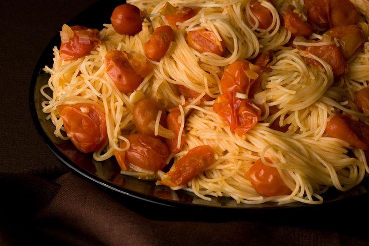 Angel Hair Pasta with Spicy Vodka Sauce Recipe - Chowhound