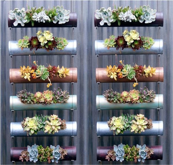 Create A Vertical Garden For Your Home - Find Fun Art Projects to Do at Home and Arts and Crafts Ideas | Find Fun Art Projects to Do at Home and Arts and Crafts Ideas