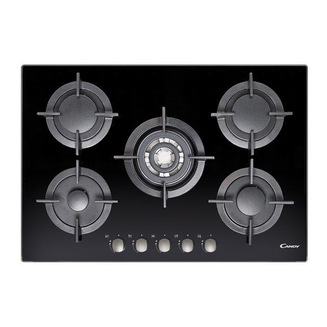 Piani cottura CVG75SQGNX Orologio moderno, Ghisa, Cucina