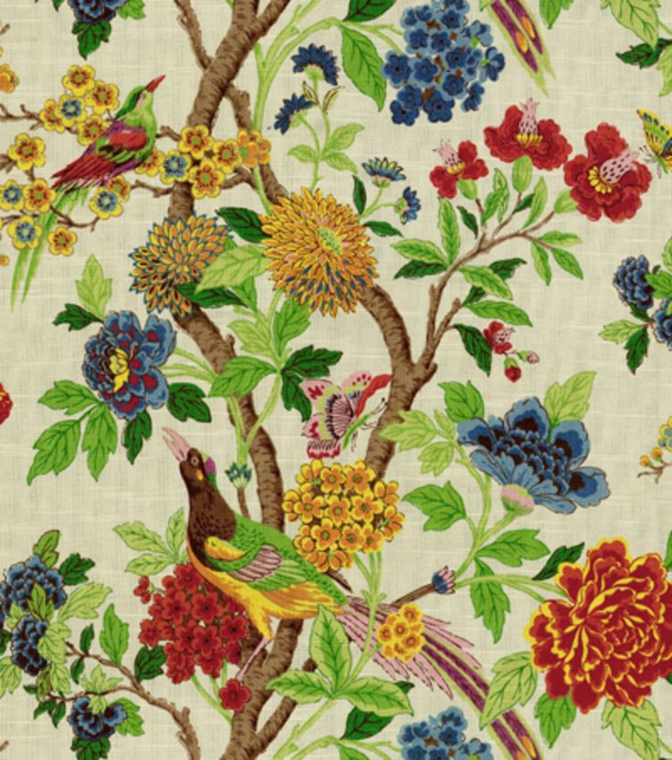 Richloom Studio Home Decor Print Fabric Wilma Summer