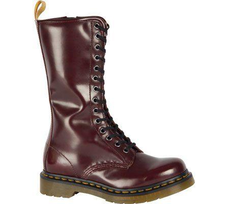 Del Dr. Martens Mujeres Cherry Red 1B99 14I Zip Boot Vegan 5 F (M) Reino Unido