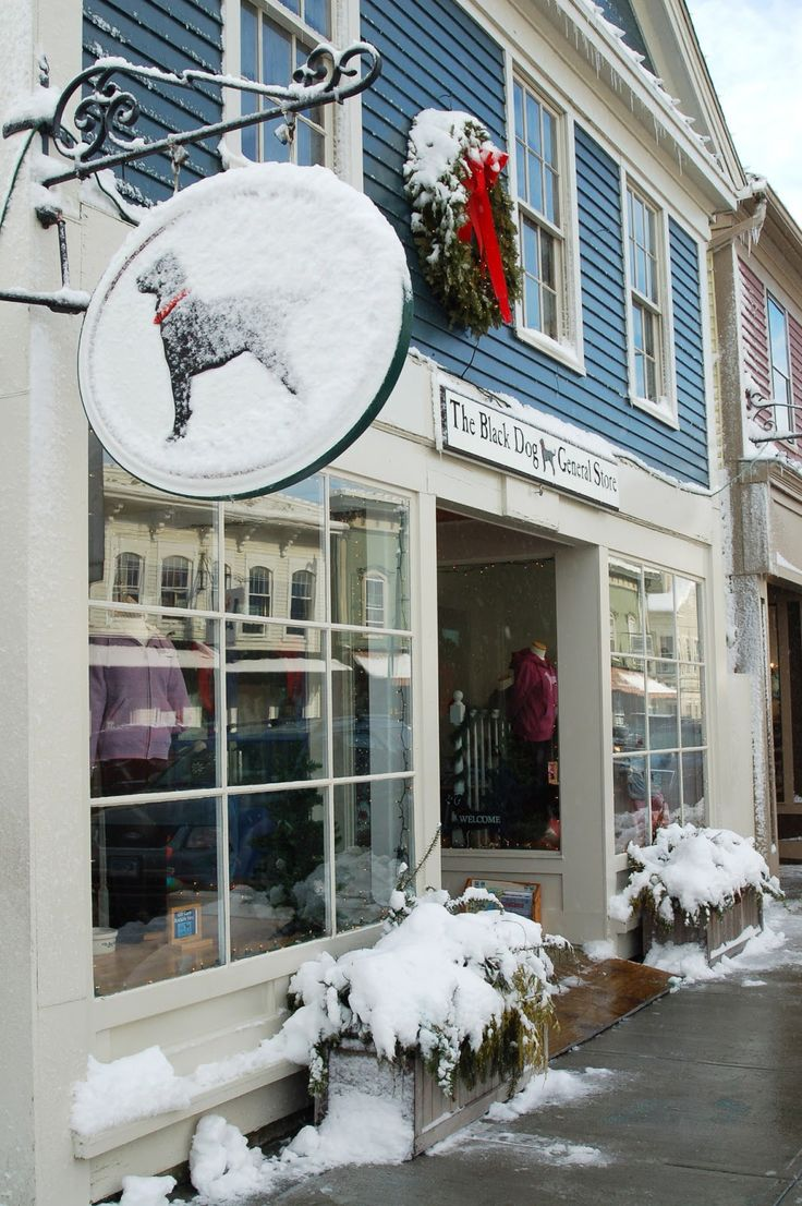 The Black Dog, Mystic, Connecticut - it's pretty cute there, Mystic is a cute town - old, but cute