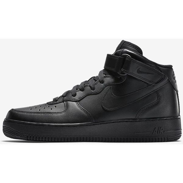 NIKE AIR FORCE 1 MID 07 (365 RON) ❤ liked on Polyvore featuring shoes, mens shoes and nike mens shoes
