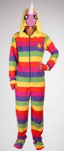 Adventure Time Finn Jake Lady Rainicorn Adult Hoody Zipoff Feet Pajamas PJ'S | eBay