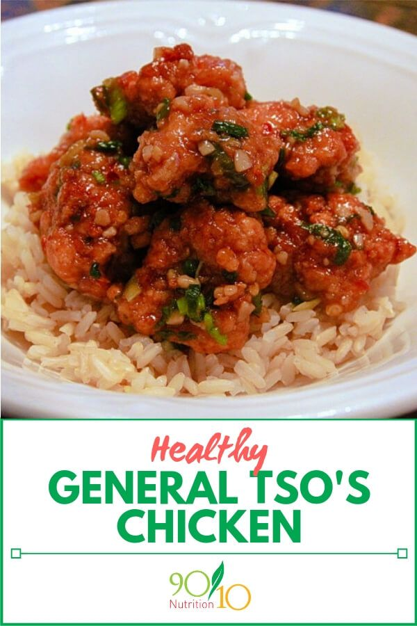 General Tsos Chicken Recipe Clean Eating Recipes From 9010