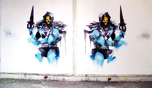 Anthony Lister - Skelator
