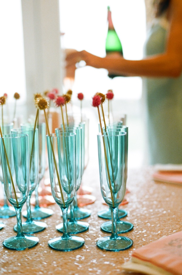 classic bride: Mermaid-themed Cocktail Hour Bridal Shower in Connecticut Classic Bride: Polished Wedding + Daily Style