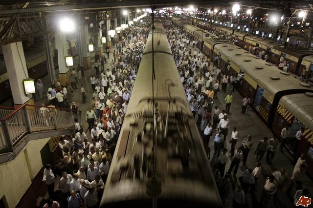 The local trains of mumbai are its lifeline.. it transports people from all stratas and is a unique experience