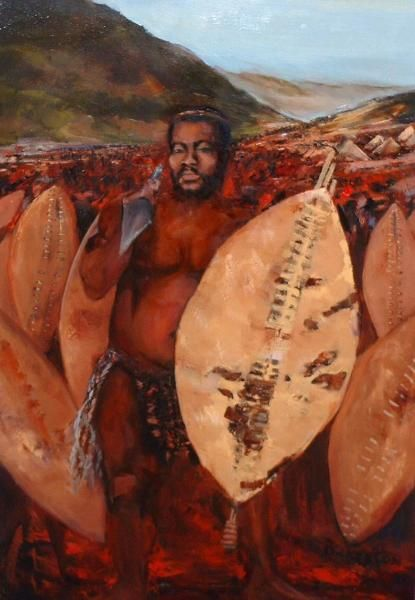Cetshwayo kaMpande - king of the Zulu nation from 1872 to 1879 and their leader during the Zulu War - Marlene Dickerson