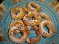orejas y rosquillas sin gluten