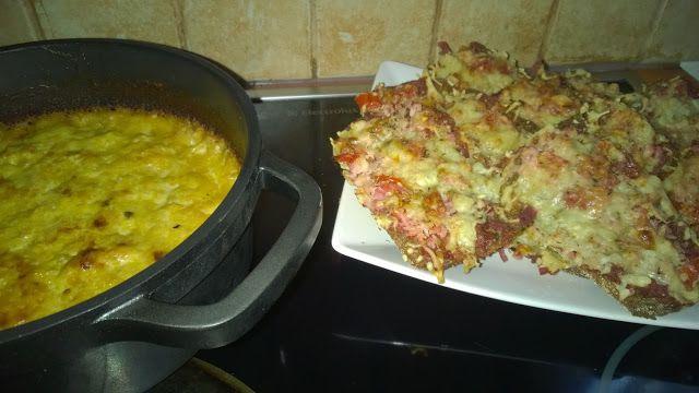 Tupun tupa: Broileripataa ja ruisleipä pizzoja