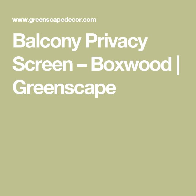 17 best ideas about balcony privacy on pinterest balcony for Apartment balcony privacy solutions