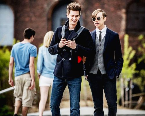 Peter Parker and Harry... Andrew Garfield