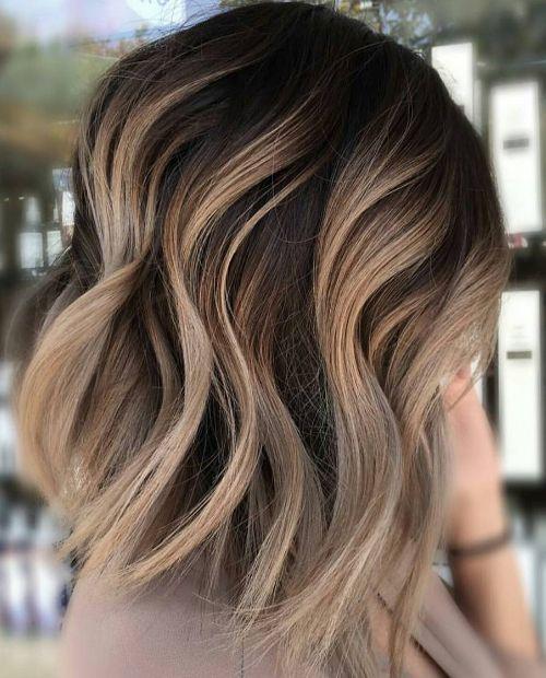 Neutral Carmel Blonde Hair Color Ideas for Short Hairstyles 2017