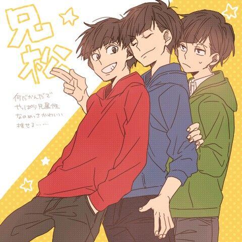Osomatsu , karakatsu , choromatsu