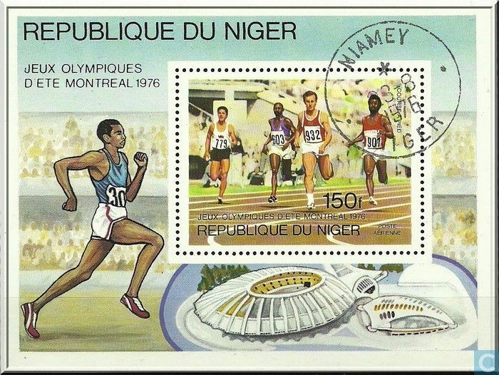 Postage Stamps - Niger - Olympic Games