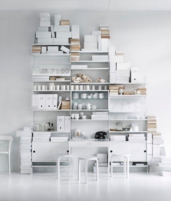 Shelf Systems | Scandinavian and Dutch design