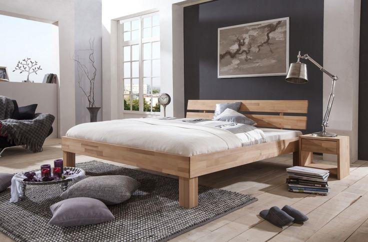 Massief houten bed Beuken €409 eiken €449