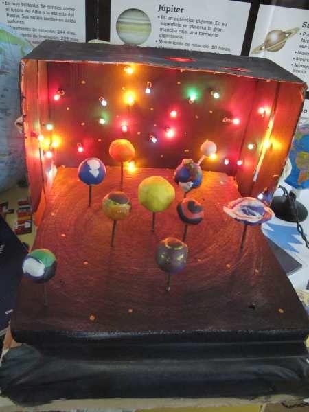 maquetas del sistema solar - Buscar con Google | PLANETARIO ...