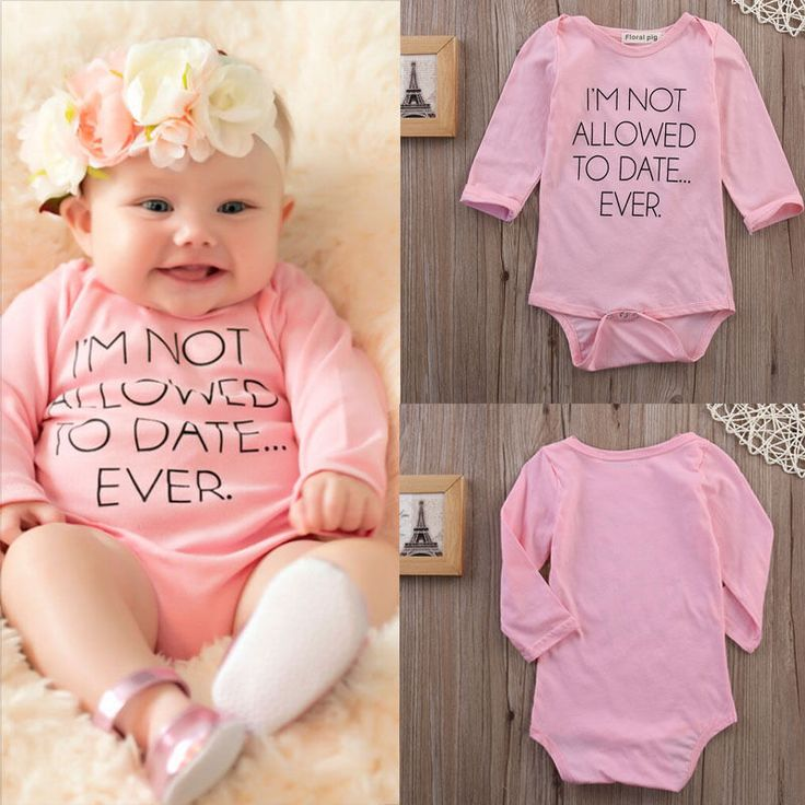 Newborn Toddler Kids Baby Girls Clothing Infant Bodysuits Cotton Letter Printed Long Sleeve Jumpsuit Baby Girl Outfits Clothes #>=#>=#>=#>=#> Click on the pin to check out discount price, color, size, shipping, etc. Save and like it!
