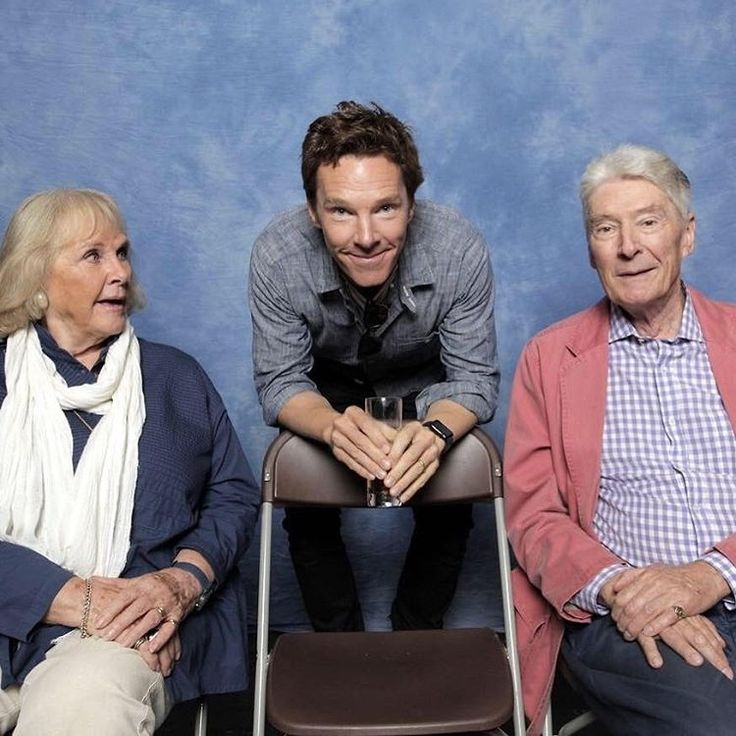 "Benedict Cumberbatch and parents -- and they're like ""Where did we go wrong??"" :P :P XD"