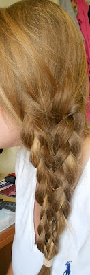 Soup For Every Girl's Soul: How-To Hair: Mermaid Tail Braid