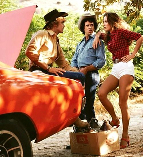 Dukes of Hazzard!!! Luke, Bo and Daisy!