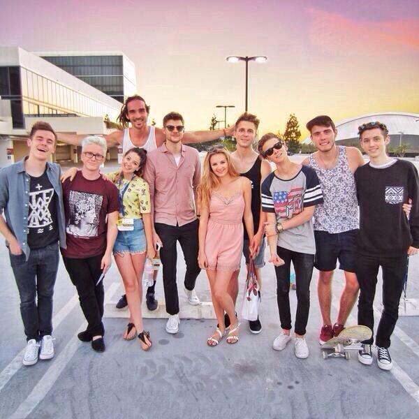 The YouTube Crew at Vidcon!