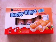 Ferrero Kinder Happy Hippo Milk & Hazelnut Chocolate Bar