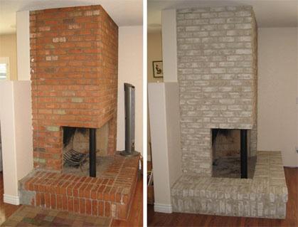 Red brick fireplaces ile ilgili Pinterest'teki en iyi 25'den fazla ...