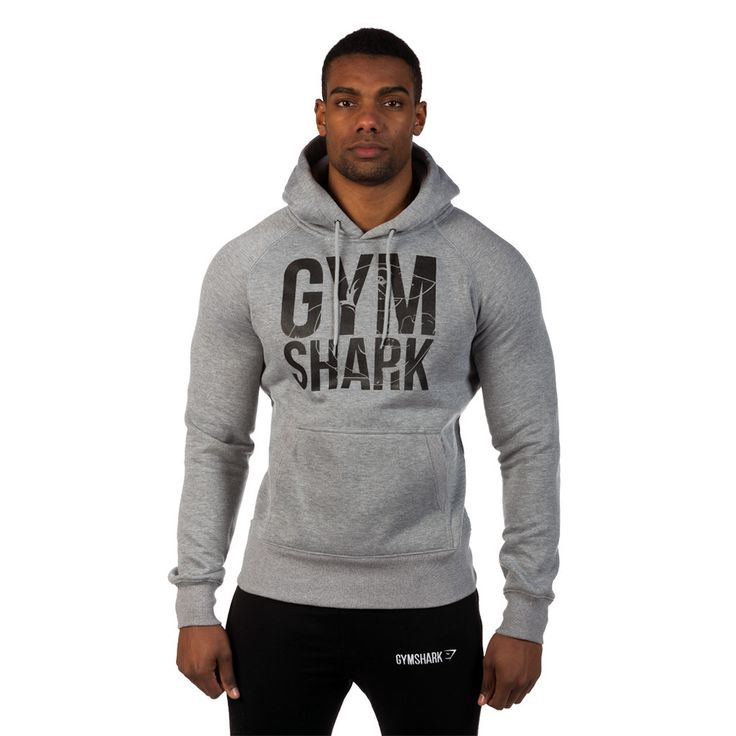 GymShark Loudmouth Hoodie 2.0 - Grey All menu0026#39;s wear | GymShark International | Innovation In ...