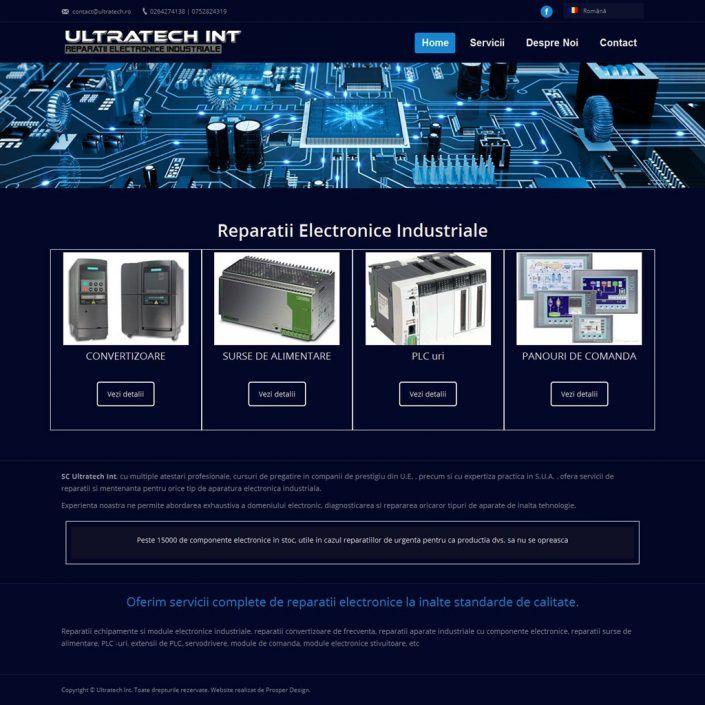 Prosperdesign Creare Site Reparatii Electronice by ProsperDesignWeb.deviantart.com on @DeviantArt