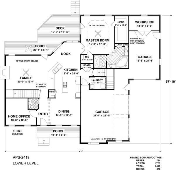 the shenandoah house plan love this floor plan with a special bonus room above the 40 best floor plans large garages 3 or 2 workshop - House Plans With Large Garages