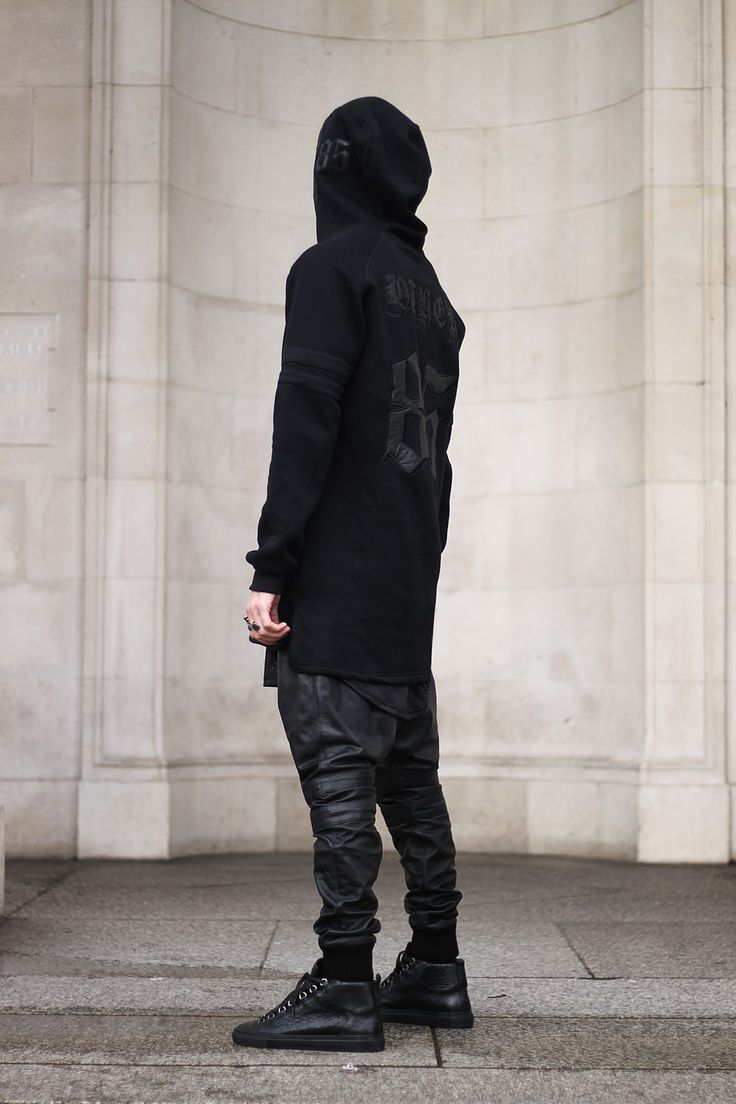 all black murder squad... 31 days of black #murder  Balenciaga killer