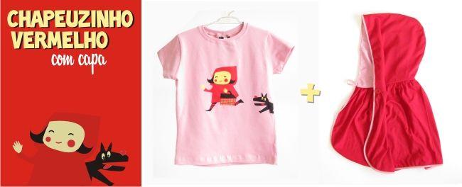 Chapeuzinho Vermelho com capa: Little Red Riding Hood, Red Half-Nig, Vermelho Party'S, Vermelho Parties