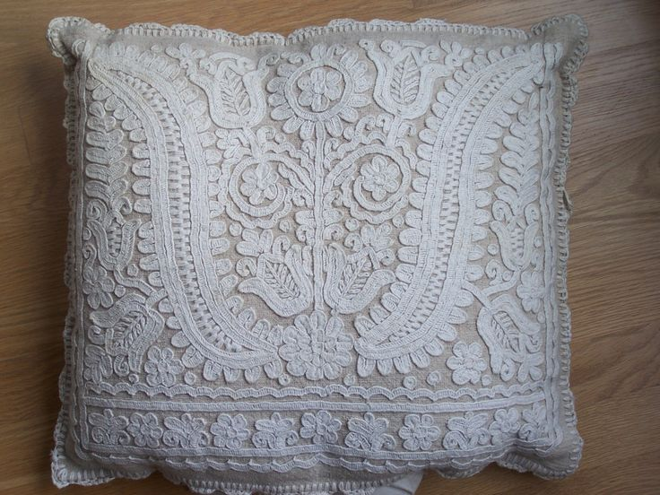 White on white embroidery from Kalotaszeg