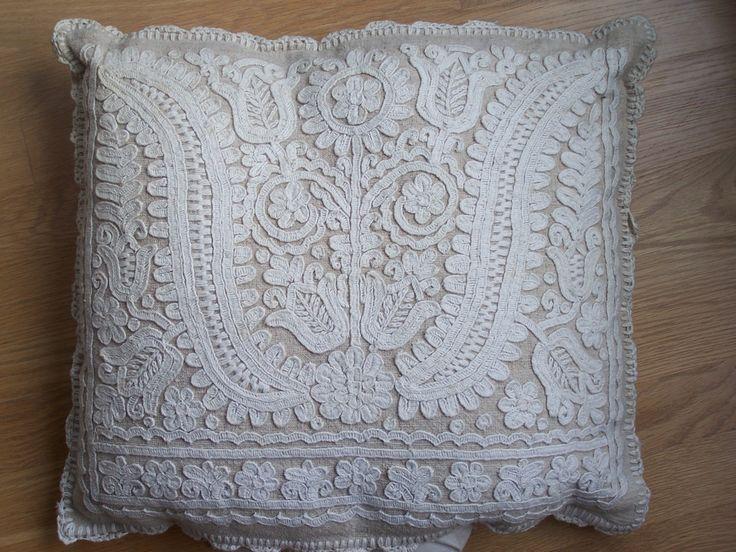 White on white embroidery from Kalotaszeg
