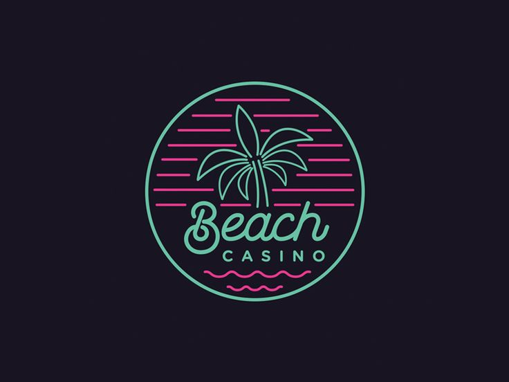 Beach Casino by Rob Rodriguez #Design Popular #Dribbble #shots