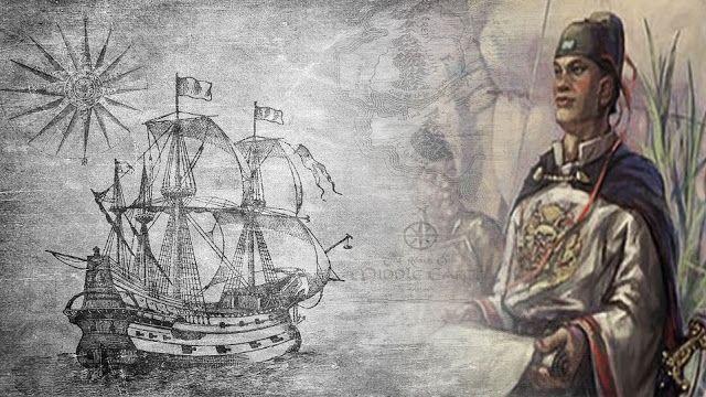 تشنغ خه الصيني المسلم الذي اكتشف أمريكا قبل كولومبوس Male Sketch Male