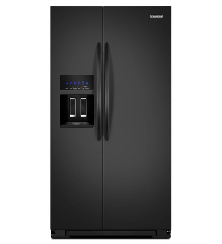 Kitchenaid 26 cu ft standard depth side by side refrigerator architect series ii for the - Kitchenaid architect counter depth refrigerator ...