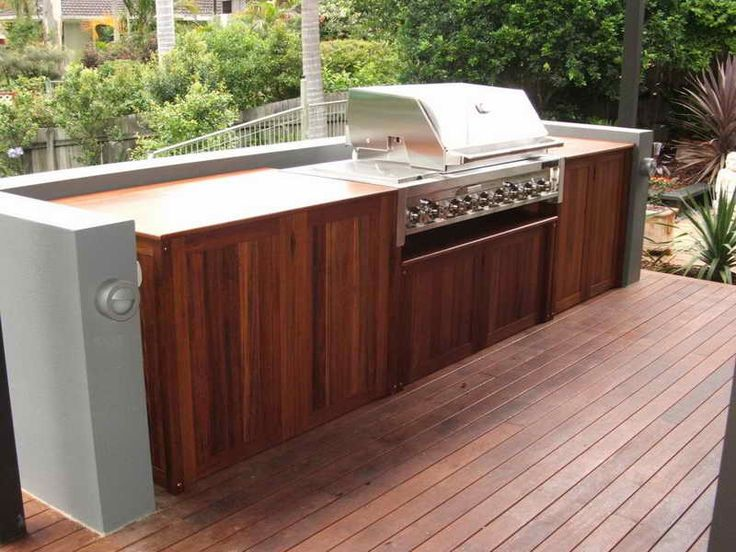 17 best ideas about outdoor kitchen cabinets on pinterest for Affordable outdoor kitchen ideas