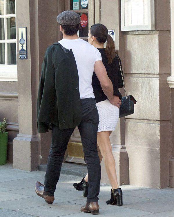 David Gandy in London on April 22, 2016