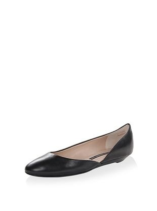 51% OFF French Connection Women's Asia Ballet Flat (Black)