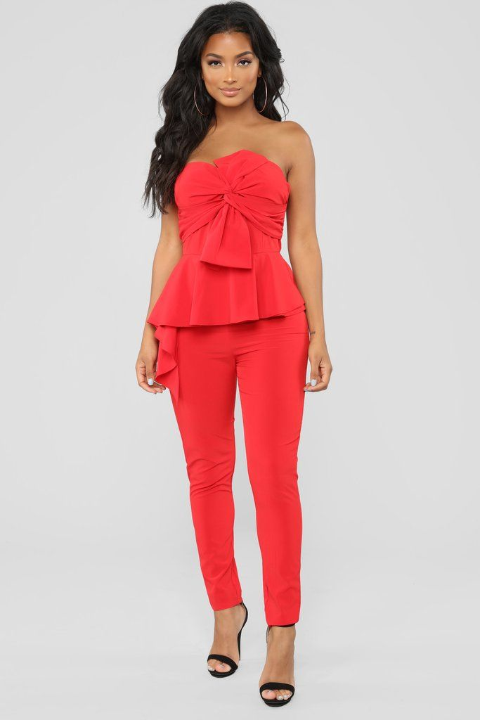 31ee3f22fc1 Dance Your Heart Out Jumpsuit - Red in 2019
